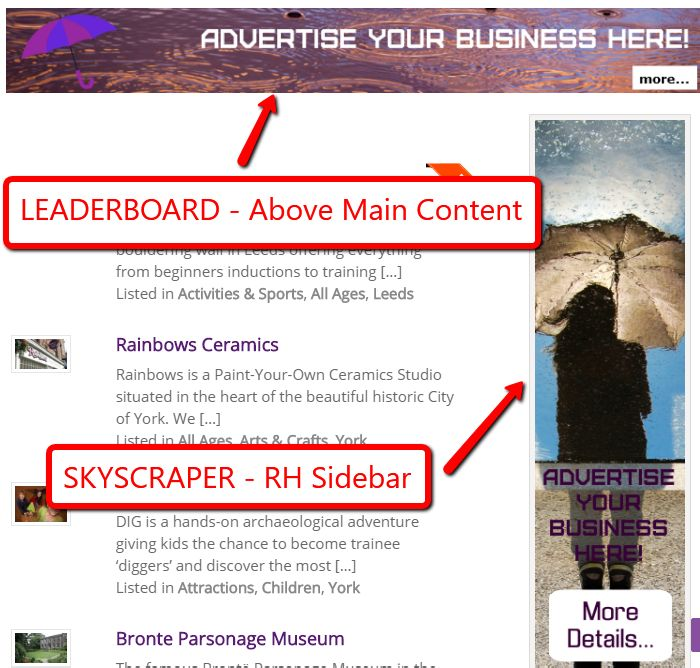 Banner Ads Example A